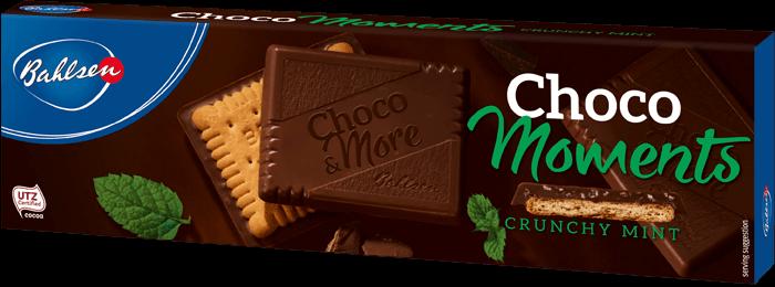 Bahlsen chocomoments crunchy mint