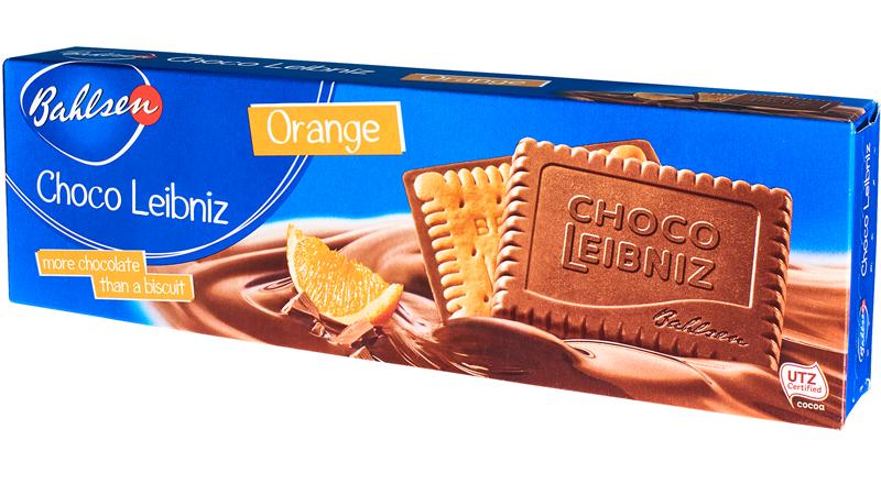 Bahlsen chocoleibniz chocolate orange