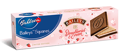 Baileys Squares Strawberries and Cream